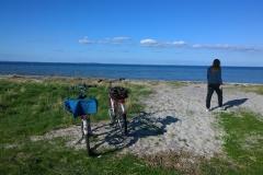 Fahrradtour an den Strand von Neukirchen