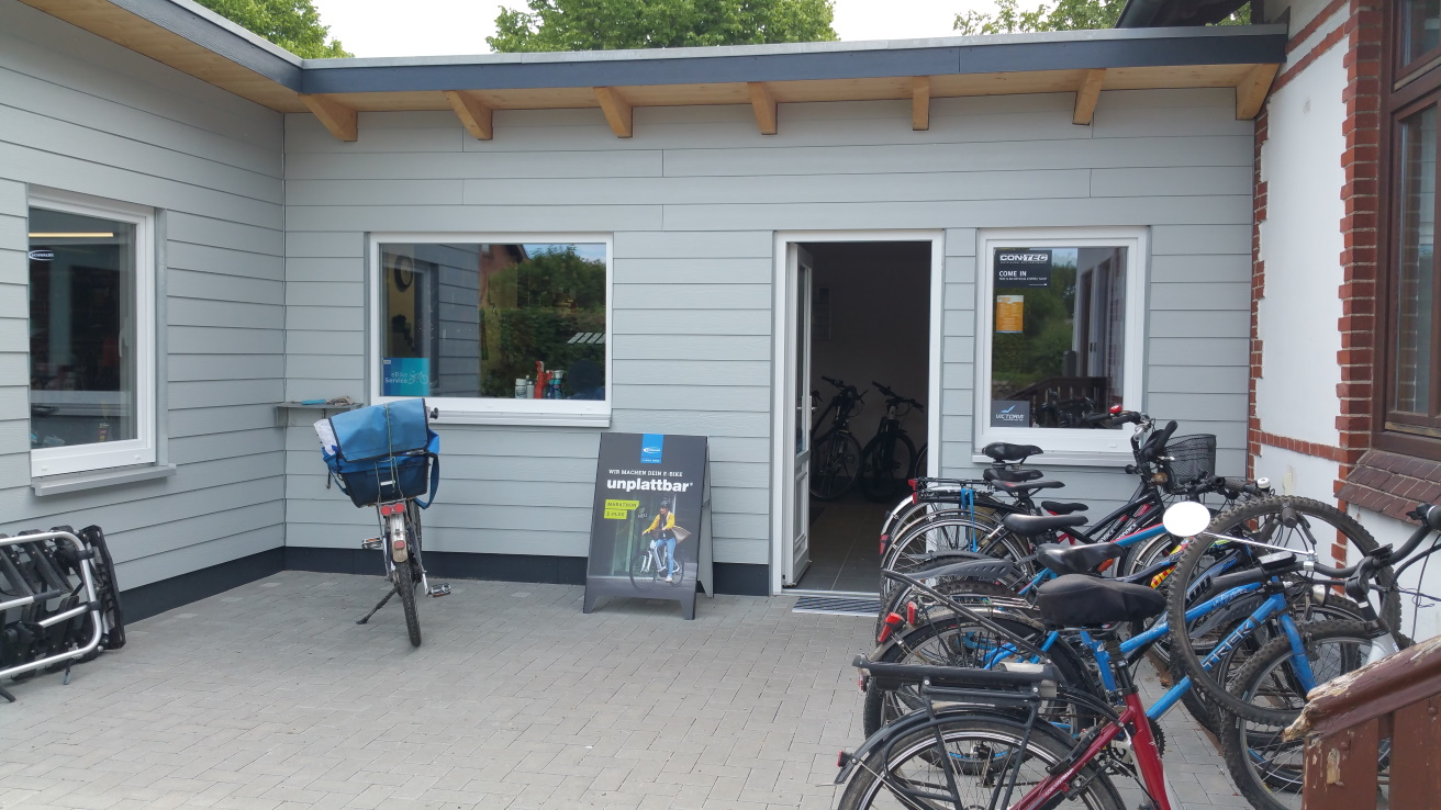 Fahrradverleih und Fahrradreparaturen